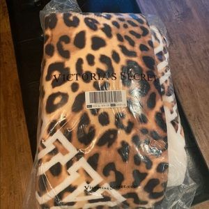 Victoria's Secret cheetah blanket!